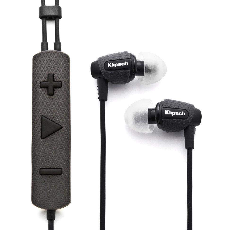 8pcs M-SLB Triple Flange Replacement Eartips Earbuds for Klipsch Earphones